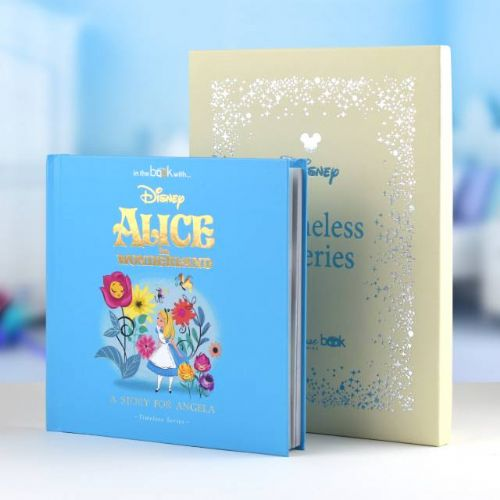 Personalised Disney Alice In Wonderland Book